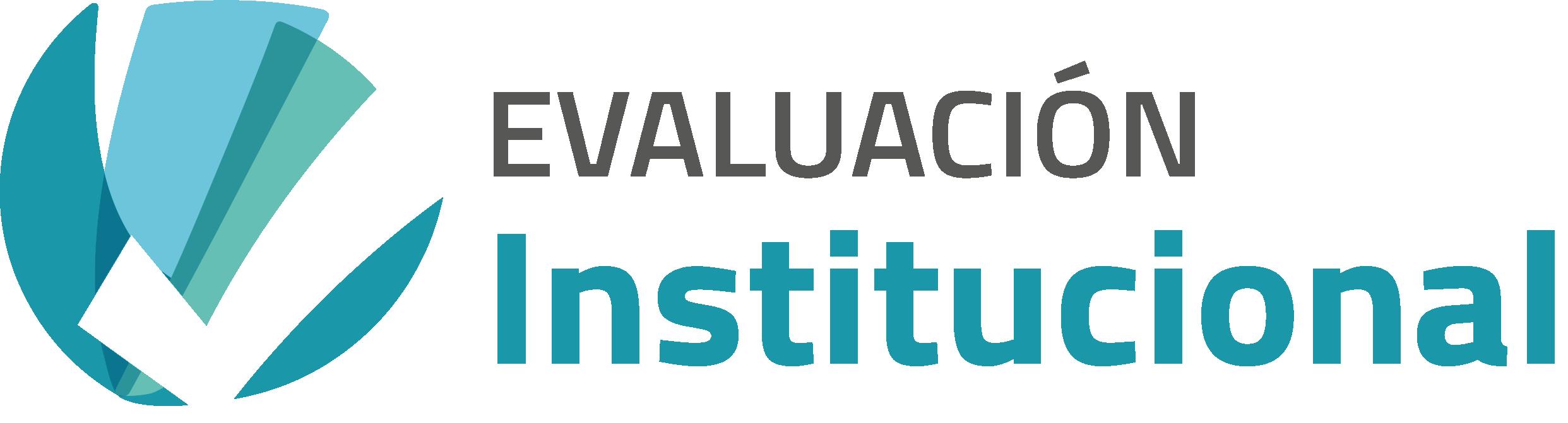 """logo de """"Evaluación Institucional"""""""