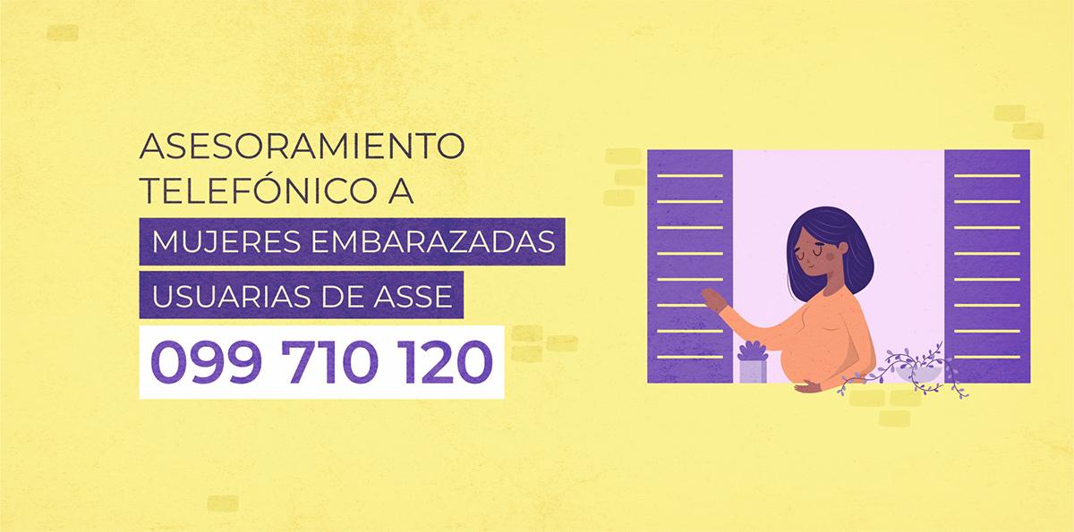 099710120 - Asesoramiento telefónico a mujeres embarazadas usuarias de ASSE