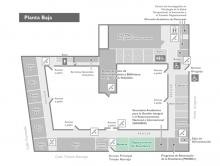 Plano de ubicación - planta baja - edificio central
