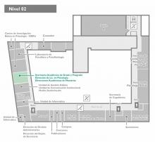 Plano de ubicación - 2do nivel - edificio central