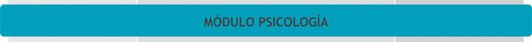 Unidades Curriculares del Módulo de Psicología - Plan de Estudio 2013