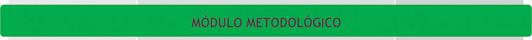 Unidades Curriculares del Módulo Metodológico - Plan de Estudio 2013