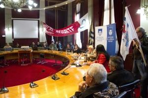 Conferencia de prensa sobre expectativas ante la Rendición de Cuentas .08/07/2016. Foto: Richard Paiva-UCUR.