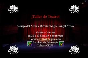 Taller de Teatro - creación colectiva