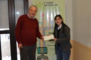 Lic. Verónica Rodríguez Matto, que participó del Censo Nacional de Psicología, ganó un viaje a Lisboa (Portugal)