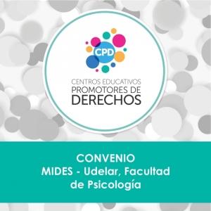 Facultad de Psicología participará en los Centros Promotores de Derechos del MIDES