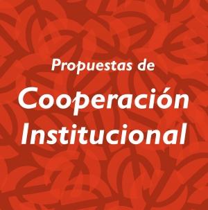 Propuestas de Cooperación Institucional (para estudiantes del Plan de estudios 2013)