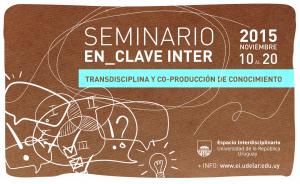 Convocatoria a reseñas para el Seminario En_Clave Inter 2015
