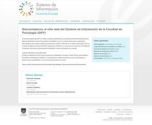 ¿Qué es el Sistema de Información de la Facultad de Psicología (SIFP)?