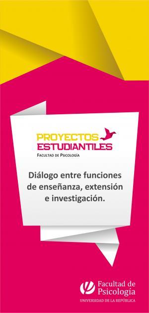 Proyectos estudiantiles de la Facultad de Psicología (2011-2012)