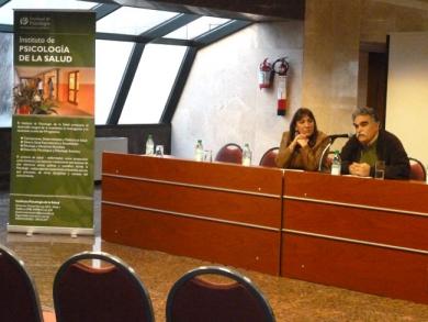 Prof. Víctor Giorgi y Prof. Adj. María Celia Robaina