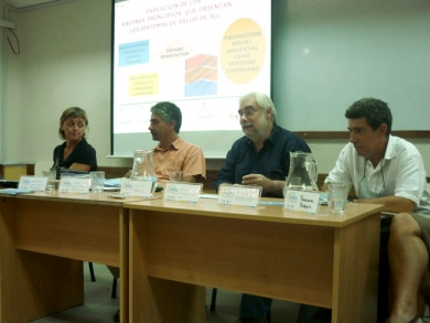 Mesa sobre Determinantes de la Salud. Escuela de Verano, febrero 2012