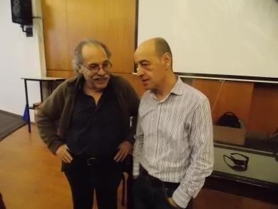 Visita del Dr. Enrique Carpintero, setiembre 2015