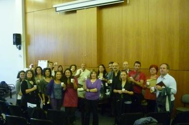 Colectivo fundacional del Instituto de Psicología de la Salud, setiembre 2010