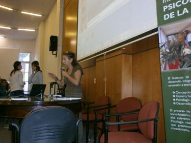 Prof. María Pimienta, Directora del Instituto de Psicología de la Salud