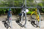 Nuevo bicicletario en la Facultad de Psicología