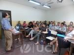Curso Teoría Social y Salud a cargo del Dr. Roberto Castro y Prof. Agda. Alejandra López. Marzo 2014