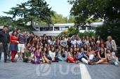 Estudiantes de la Escuela y Comité Organizador