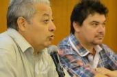 Decano Luis Leopold y Asist. Javier Romano, por el Comité Organizador