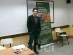 Prof. Dr. Francisco Eiroa en su estancia académica en el Instituto