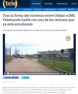 """""""Tras la firma del convenio entre Udelar e INR..."""""""
