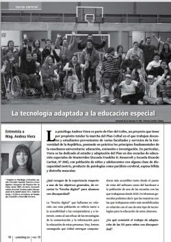 La tecnología adaptada a la educación especial