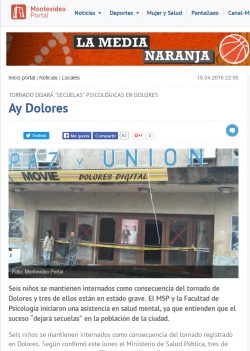 """""""Ay Dolores"""" (nota de prensa)"""
