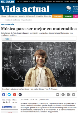"""Música para ser mejor en matemática"""
