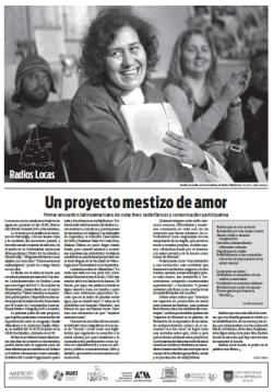 Radios Locas: un proyecto mestizo de amor (suplemento en La Diaria)