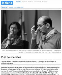 """Puja de intereses"" (nota de prensa)"