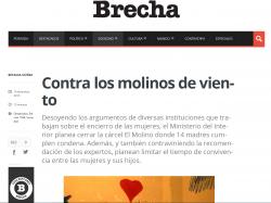 """""""Contra los molinos de viento"""" (nota de prensa)"""