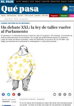 """""""Un debate XXL: la ley de talles vuelve al Parlamento"""""""