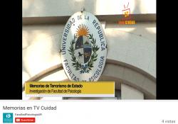 "Jornada: ""Memorias"" - informe TV Ciudad"