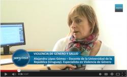 Violencia de Género y Salud (entrevista a la Prof. Agda. Alejandra López Gómez)