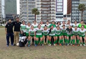 Equipo femenino de fútbol de la Facultad de Psicología