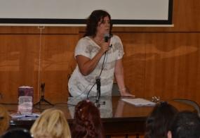Fotografía de la Prof. Agda. Mabela Ruiz
