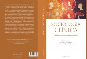 """Portada del libro  """"Sociología Clínica. Investigaciones y reflexiones hoy"""""""