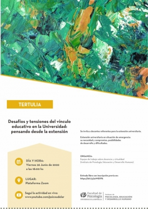 Afiche de difusión